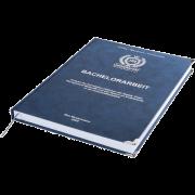 Bachelorarbeit drucken und binden mit Premium-Hardcover blau und Leseband