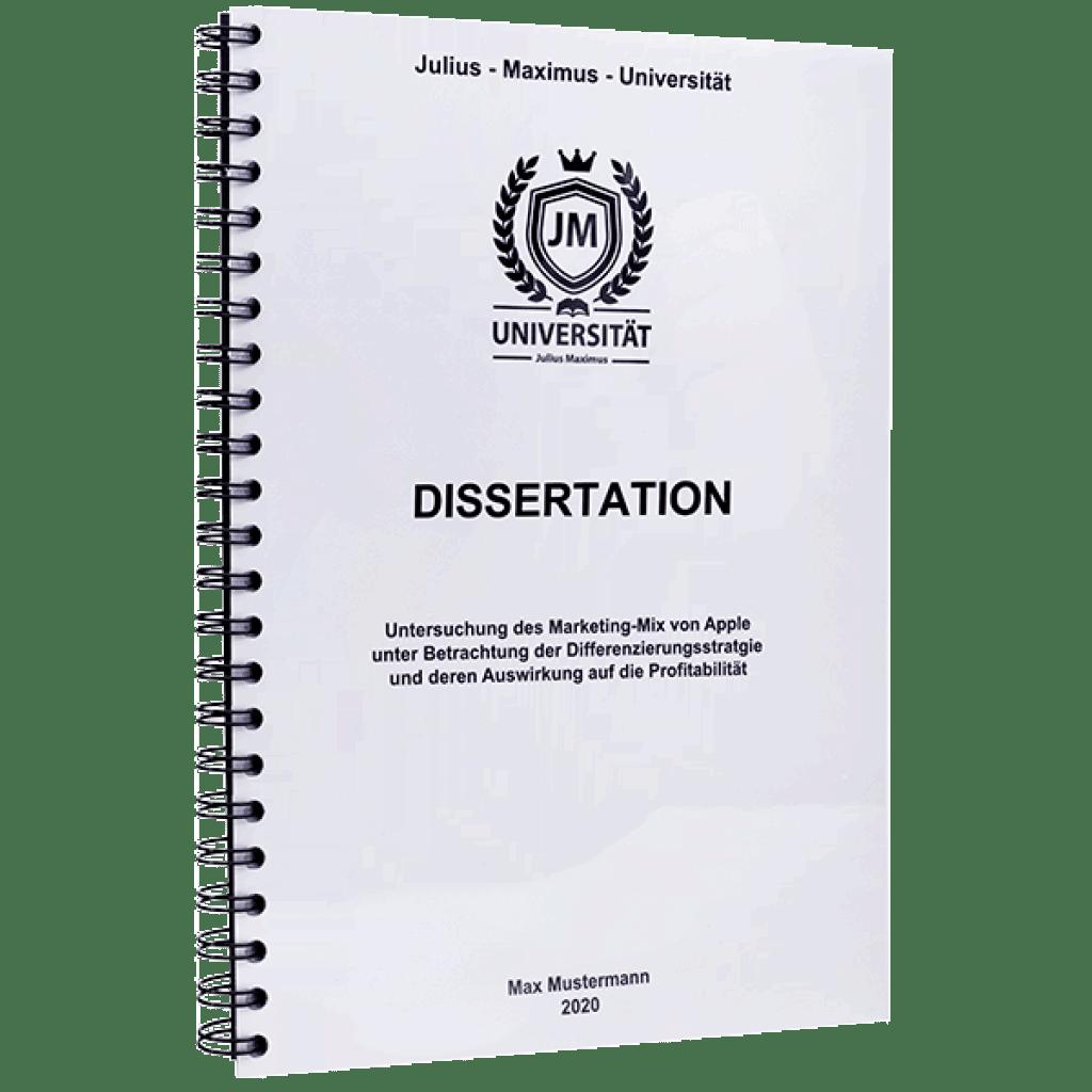 Danksagung schreiben dissertation