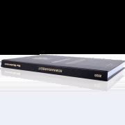 Seminararbeit binden lassen im Standard Hardcover Buchrücken