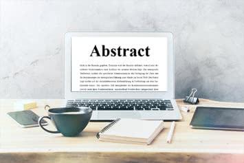 Abstract schreiben mit Beispielen