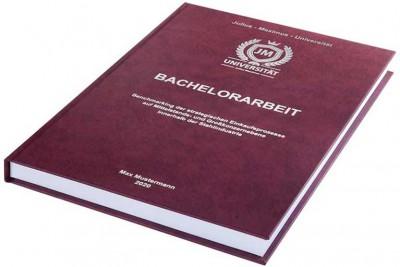 Hardcover-Prägung-der-Bachelorarbeit und Masterarbeit