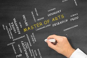 Master of Arts (M. A.) Studium