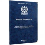 Hardcover in Blau