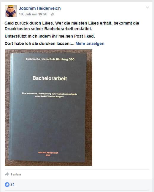 Kostenlos drucken: Joachim Heidenreich Juli 2016