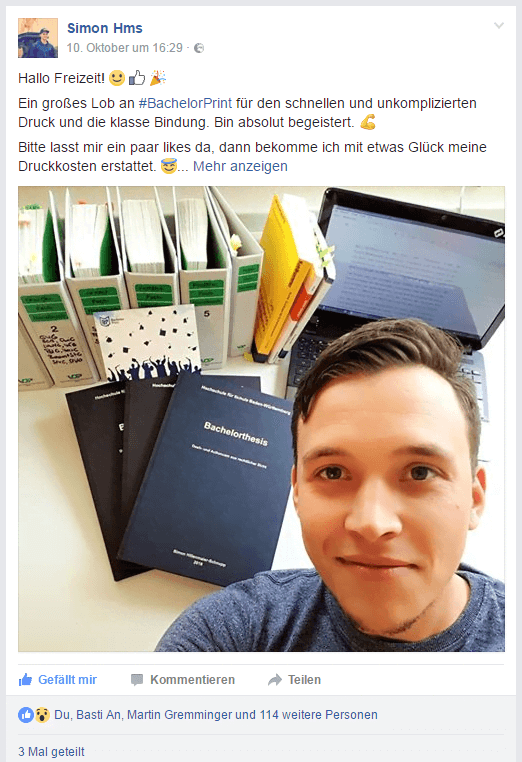 Kostenlos Drucken - Simon Hillenmaier-Schnupp