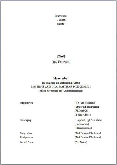 Vorlage Deckblatt Masterarbeit ohne Logo-1