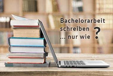 Tipps zum Bachelorarbeit schreiben