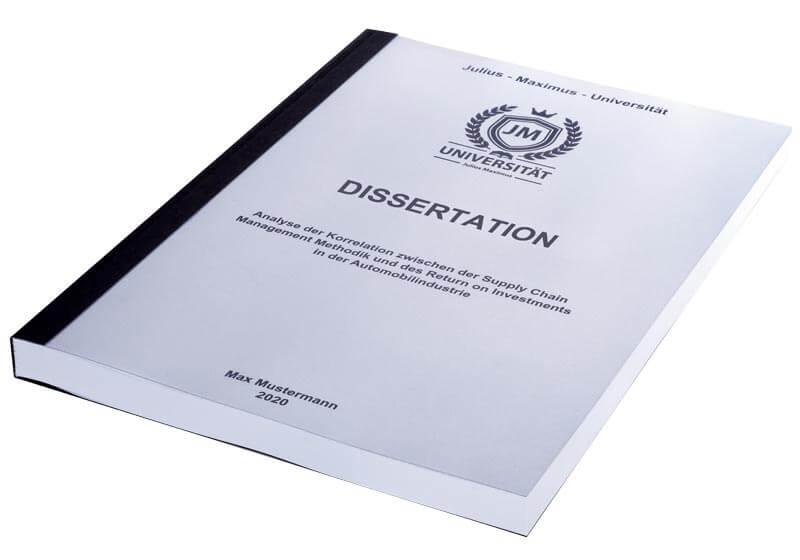 dissertation drucken preisvergleich
