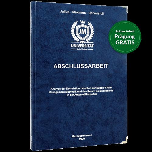 Abschlussarbeit-drucken-und-binden-mit-dem-Premium-Hardcover in dunkelblau