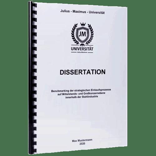 druckkosten dissertation stipendium