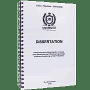 Dissertation drucken und binden mit der Spiralbindung Metall