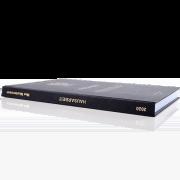 Hausarbeit binden lassen im Standard Hardcover Buchrücken