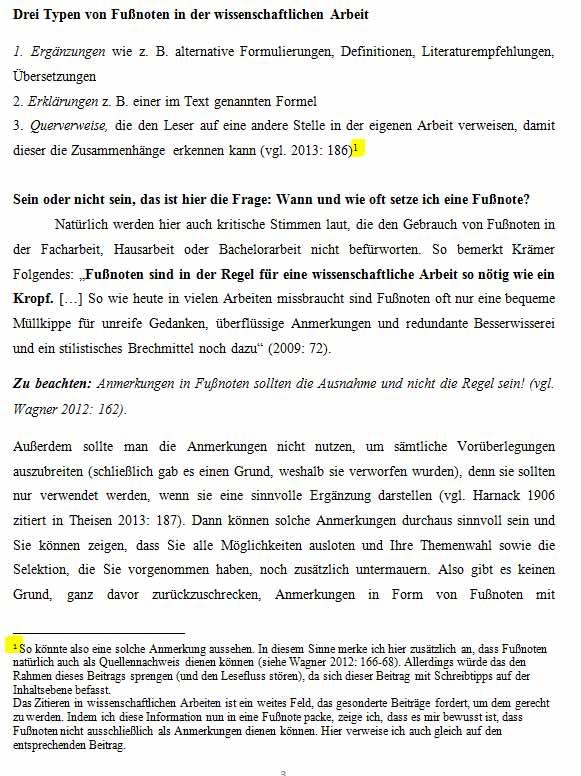 Fußnote Word Anleitung Zum Einfügen Mit Screenshots