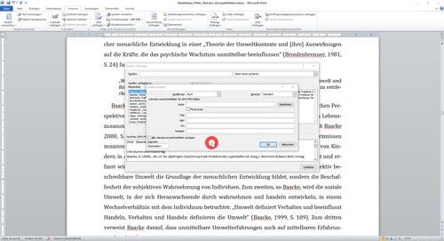 Neue Quelle zum Literaturverzeichnis hinzufügen-1