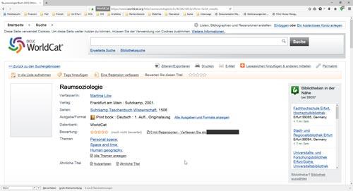 WorldCat als Datenbank für Monografien und Sammelbänden-1