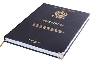 Online dissertation drucken