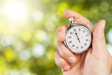Dauer für das Drucken und Binden der Bachelorarbeit