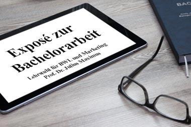 Exposé für die Bachelorarbeit schreiben