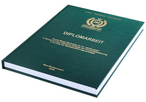 Kosten und Preise Diplomarbeit drucken und binden im Hardcover