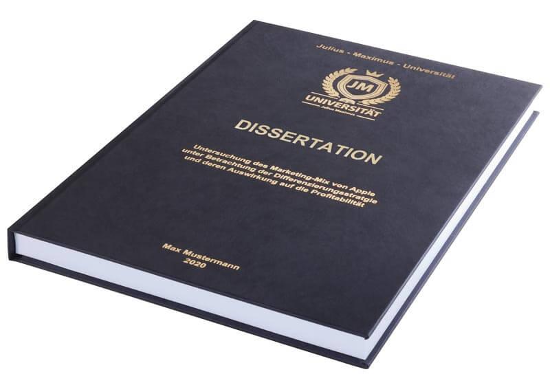 druckkosten dissertation steuer absetzen