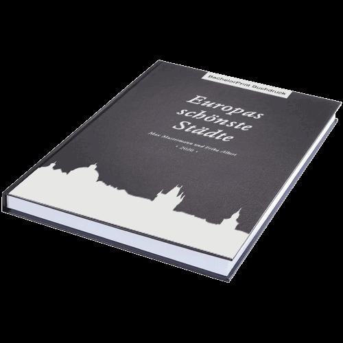 Buch drucken Standard schwarz