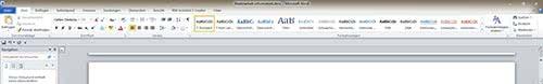 Formatvorlagen Word Inhaltsverzeichnis S
