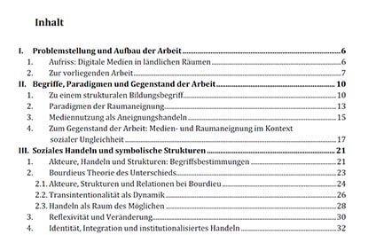 inhaltsverzeichnis fr die seminararbeit erstellen - Seminararbeit Einleitung Beispiel