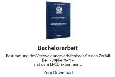 Bachelorarbeit Beispiel Physik