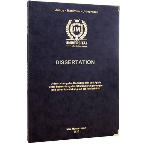 Dissertation drucken Frankfurt