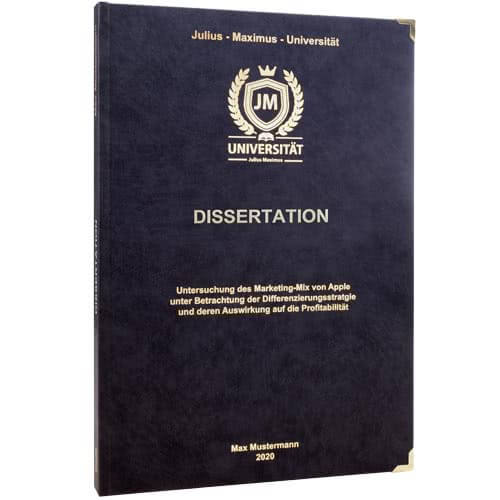 Dissertation drucken Erlangen