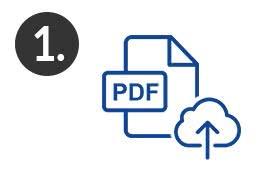 Schritt 1 Projektarbeit zum drucken & binden im Online-Shop hochladen