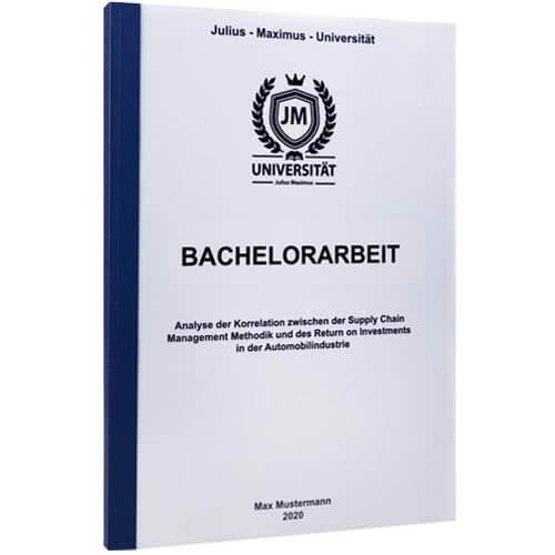 Bachelorarbeit drucken Hannover