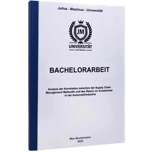 Bachelorarbeit drucken Saarbrücken