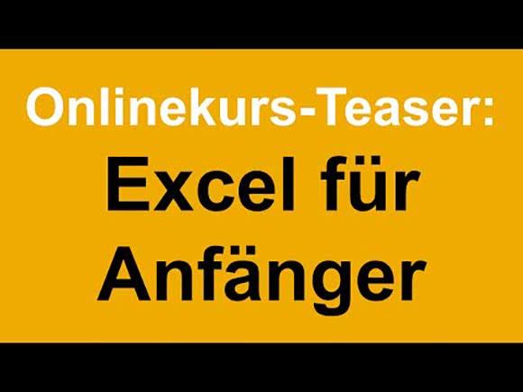 Excel Online-Kurs