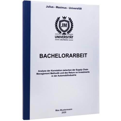 Bachelorarbeit drucken Erfurt