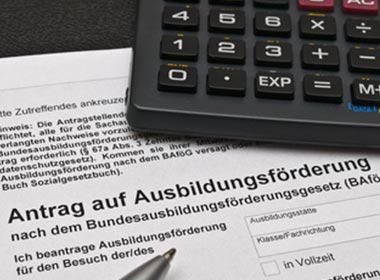 BAföG Antrag Formulare