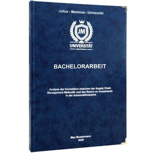 Bachelorarbeit binden Bayreuth