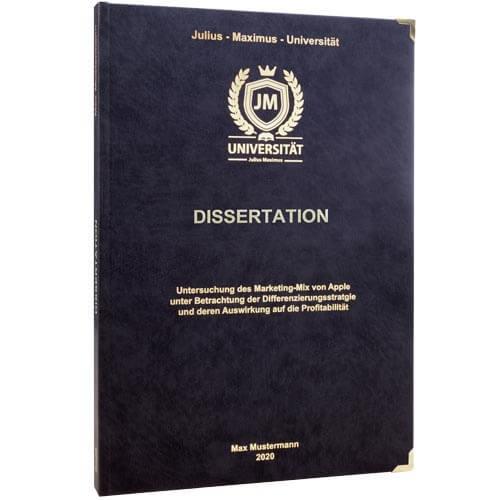 Dissertation drucken Würzburg