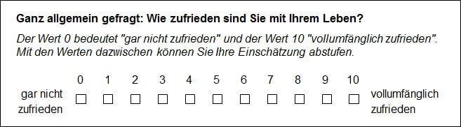 Umfrage erstellen Verhältnisskala