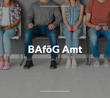 Zum BAföG Amt