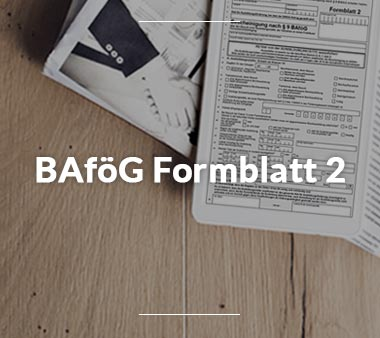 Zum BAföG Formblatt 2