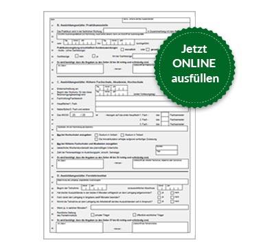 BAföG Formblatt 2 S2