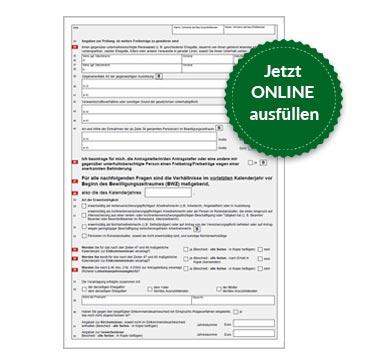 BAföG Formblatt 3 S2
