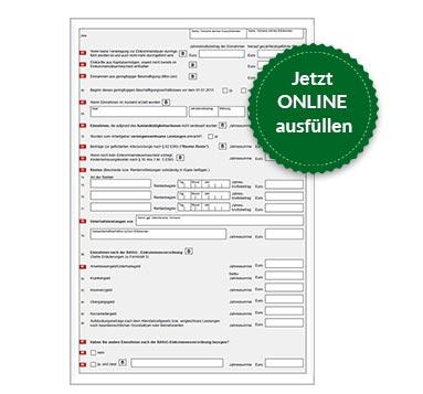 BAföG Formblatt 3 S3