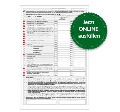 BAföG Formblatt 7 S2