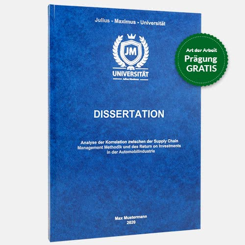Dissertation binden Hardcover Standard