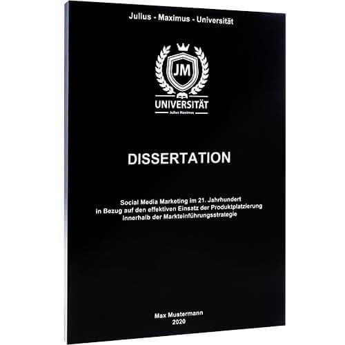 dissertation preiswert drucken