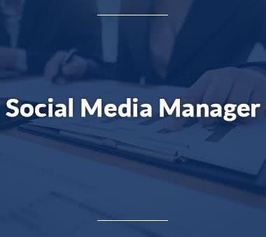 PR Manager Social Media Manager