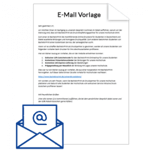 BachelorPrint E-Mail-Vorlage