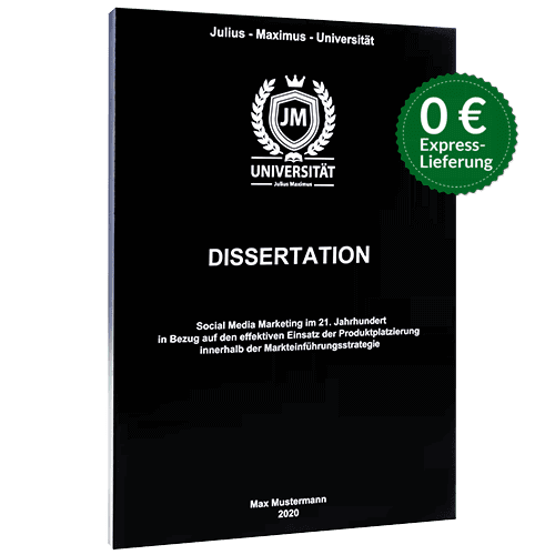Dissertation binden Magazinbindung